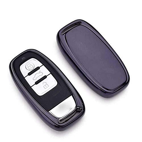 SAXTZDS Schutzhülle aus weichen TPU-Ohrringen, passend für Audi A4L A5 A6 A6L Q5 S5 S7