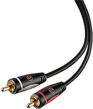 Alphaline RCA Stereo Audio Cable 6 Feet