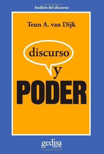 Download Discurso Y Poder (Cla-De-Ma) 