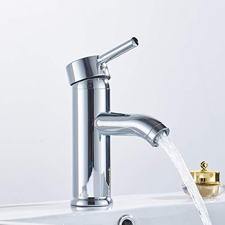 Waschtischarmaturen YHSGY Bad Wasserhahn Chrom Waschbecken Wasserhahn Kurve Neigung Waschbecken Leitungswasser Wasserfall Waschbecken Mischer Wasserhahn