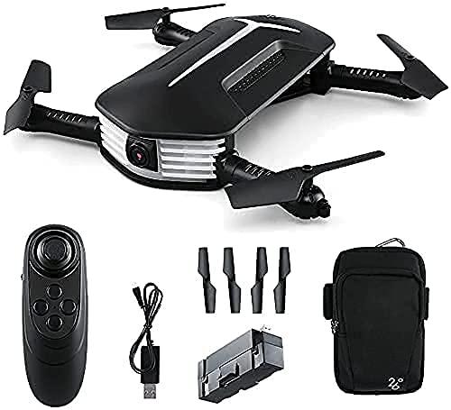 Drone con fotocamera pieghevole Drone Wifi 120deg;Telecamera HD 720P grandangolare, volo in traiettoria, mantenimento dell'altitudine, modalità senza testa, controllo della gravità, impostazione int