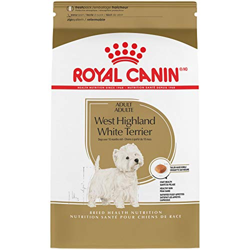 Royal Canin West Highland White Terrier Adult Breed Specific Dry Dog Food, 10 lb. bag