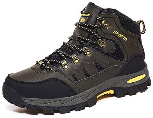 DimaiGlobal Scarpe da Escursionismo Uomo Donna Arrampicata Impermeabili Traspiranti Sportive All'aperto Scarpe da Trekking Sneakers Resistente Antiscivolo Passeggiate