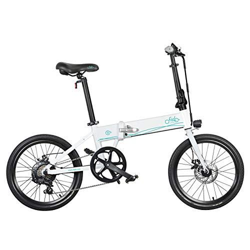 FIIDO Bicicleta eléctrica plegable D4S para adultos, 250 W, 36 V, bicicleta...
