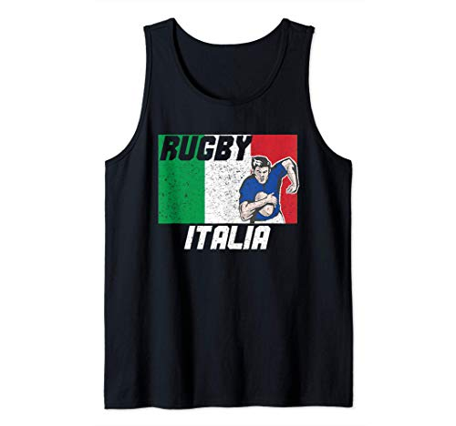 Italien rugby-trikot 2021 Italy Rugby Tank Top
