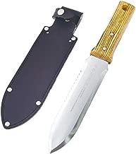Nisaku NJP650 Hori-Hori Weeding & Digging Knife, Authentic Tomita (Est. 1960) Japanese Stainless Steel, 7.25