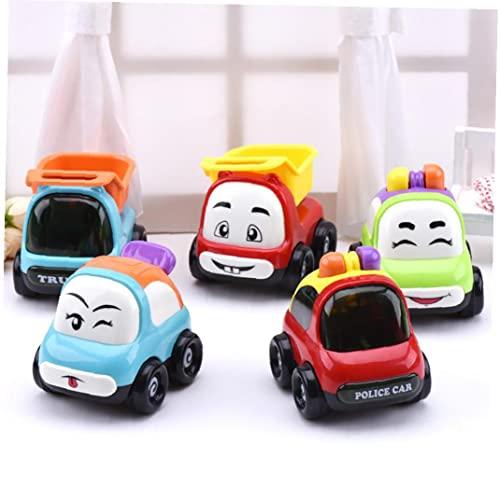 1pc Kid's Pull Back Cars Toys Baby Mini Cars Juguetes Tire detrás y deja ir a los vehículos de los autos de Racer POR 1 2 2 AÑOS DE OTROS DE LOS VEHÍCULOS DE CONSTRUCCIÓN - SONRIRE ANGEL MODELO TOYS