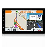 BXLIYER Android 8.1 Double Din Android Car Stereo | 10.1 Inch Octa Core 2G+32G | In Dash Car Radio GPS Navigation Head Unit With Mirror Link Google Bluetooth WiFi 4G Video Out | Free Backup Camera |