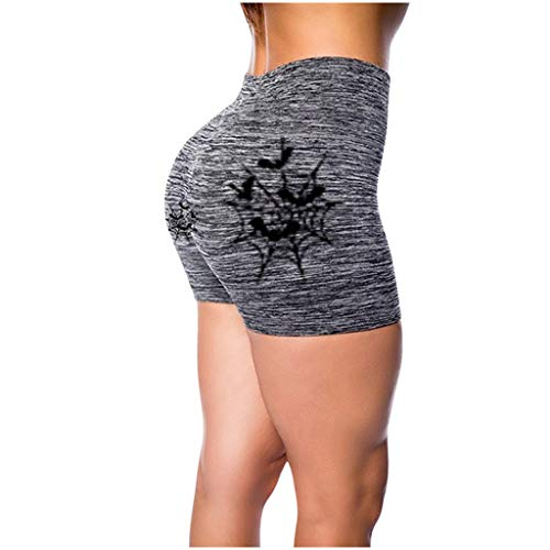 Luotuo Damen Hoch Taille Sports Shorts Kurze Sporthose Tight Shorts Running Fitness Yoga Training Shorts Kurze Pant High Waist Kurze Leggings Sport Shorts Gym