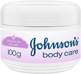 كريم مرطب للعناية بالجسم للبشرة الجافة من جونسون - 100 جم