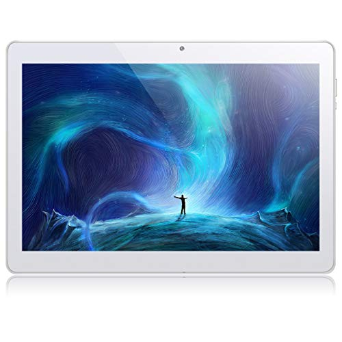 10.1 Inch Google Android Tablet,PADGENE Android 8.1 Phablet Tablet Quad Core Pad with Dual Camera, 1GB Ram 16GB ROM, 1280x800 HD IPS screen, Wifi, Bluetooth, Google Play