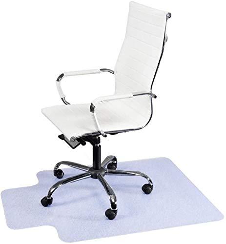 Casart - Alfombrilla protectora antideslizante para silla de oficina en casa, 1,5 mm, de PVC, 90 x 120 cm