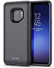 Battery Case for Samsung Galaxy S9,[6000mAh] Portable Charging Case External Battery Pack for Samsung Galaxy S9 Rechargeable Charger Case Backup Power Bank(5.8 inch)