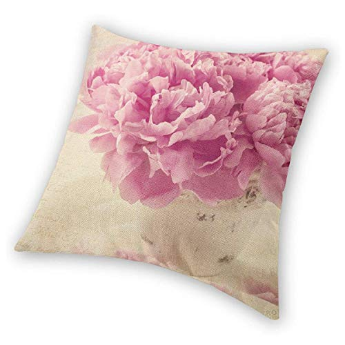 Square Throw Pillow Covers Carnation Pink Protectors Bed 45 X 45 cm Christmas Decorative Cushion Covers