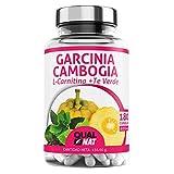 Garcinia Cambogia + L-Carnitina + T Verde | Potente Quemagrasas | Reductor del...