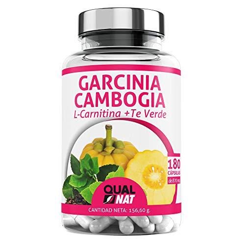 Garcinia Cambogia + L-Carnitina + Té Verde | Potente