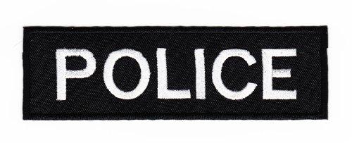 Aufnäher Bügelbild Aufbügler Iron on Patches Applikation Uniform US Police Polizei Abzeichen Bügelbild
