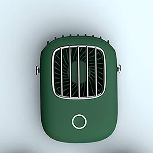 Lsdnlx Ventilador,Producto USB Mini Ventilador portátil de refrigeración de Mano Cuello Colgante pequeño Ventilador Deportivo Perezoso Ventilador portátil
