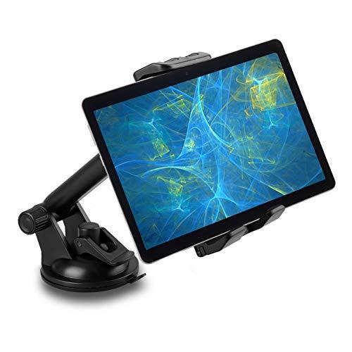 EEEKit Supporto Tablet per Auto, Cruscotto Parabrezza Porta Cellulare da Auto, Adatto per telefoni e Tablet di Dimensioni da 4-12 Pollici