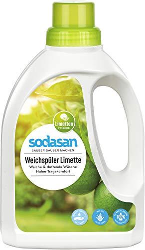 Sodasan Bio Weichspüler Limette (2 x 750 ml)