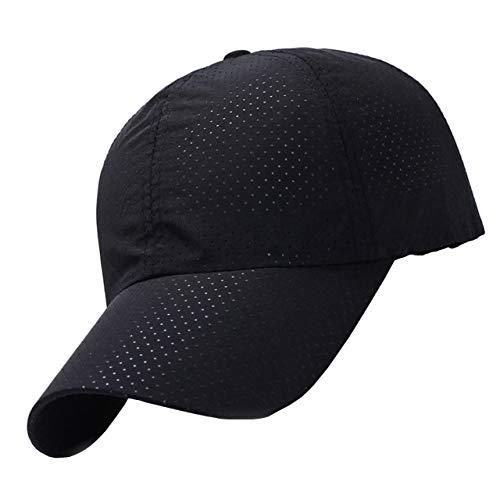 theMODE 【anan掲載モデル】 メッシュ キャップ メンズ スポーツ ランニング 帽子 UVカット (ブラック)