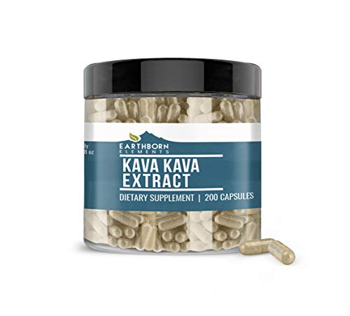 Kava Kava Extract, 200 Caps, 335 mg Serving, 200 Servings, No Stearates or...