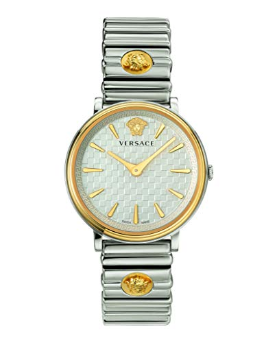 Versace VE8101419 V-Circle Dames horloge 38 mm