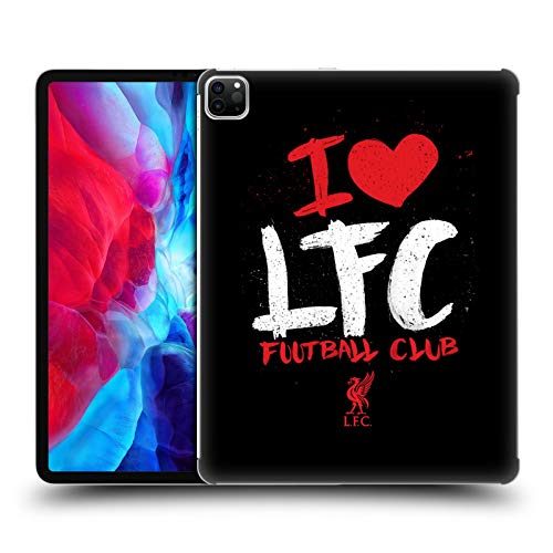 Official Liverpool Football Club I Love LFC Redmen Hard Back Case Compatible for Apple iPad Pro 12.9 (2020)