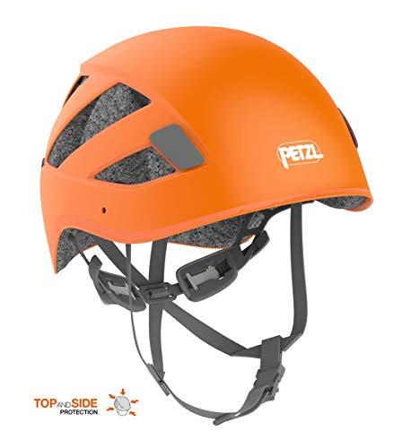 Petzl Unisex– Erwachsene Boreo Helm, Orange, Mittelgroß