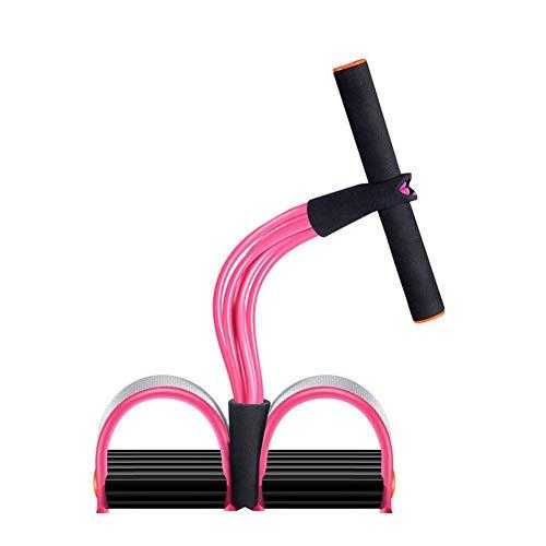 Faixa de resistência, Super Light Yoga Strap Elastic Pull Rope Fitness Equipment, Dispositivo de exercício para abdominais (Rosa)