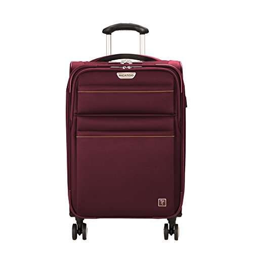 Ricardo Beverly Hills Mar Vista 2.0 21-Inch Spinner Carry On Luggage (Wine)