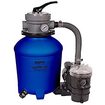 GAME 61201-BB Series Complete 0.5HP Replacement Unit Designed for Intex & Bestway New and Improved SandPRO 50D Sand High-Performance Above-Ground Pool Filter