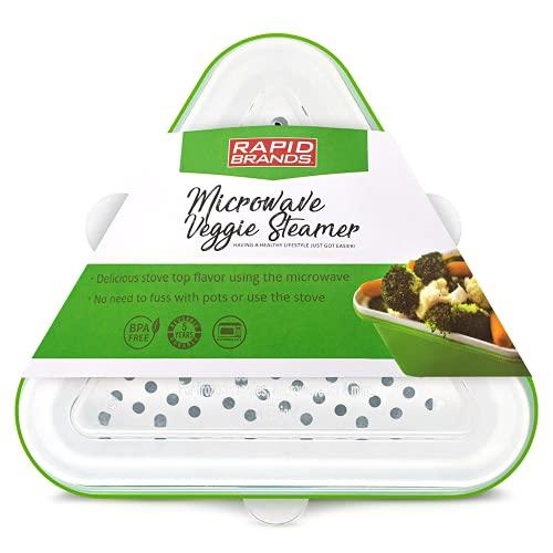Rapid Veggie Steamer | Microwave Fresh & Frozen...