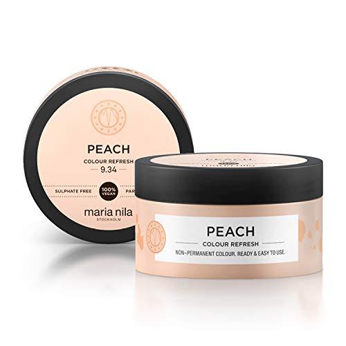 Maria Nila Colour Refresh - Peach 100ml   Eine revolutionäre Farbmaske für blondes und hellbraunes Haar