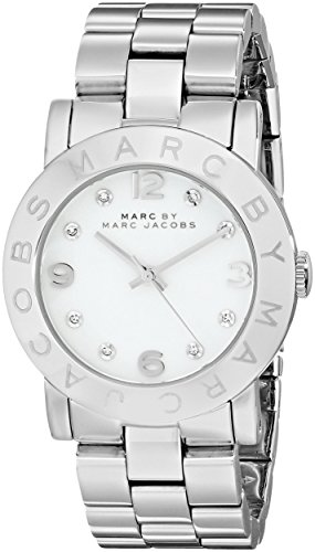 Big Sale Marc by Marc Jacobs Women's MBM3054 Amy Midsize White Dial Watch