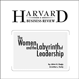 Women and the Labyrinth of Leadership (Harvard Business Review) cover art