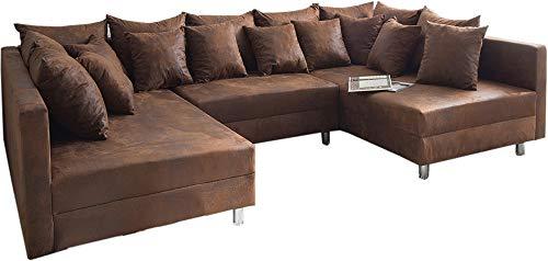 Couch Clovis Wohnlandschaft Modulsofa Design Sofa