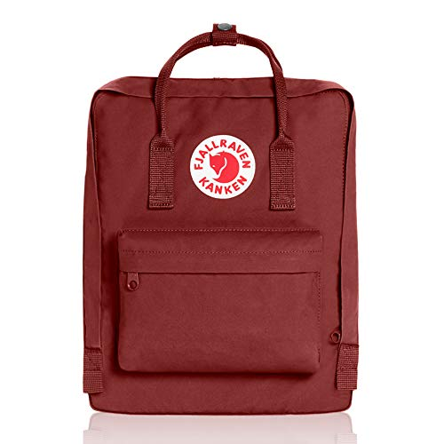 Fjallraven, Kanken Classic Backpack for Everyday, Ox Red