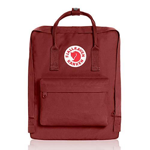 Fjallraven Kanken Backpack, Red, 38 x 27 x 13 cm, 16 L