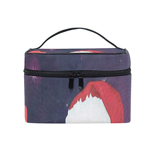 Kosmetiktaschen,Make-up Taschen Etuis Cosmetic Bag Cartoon Library Book Shelf Bookworm Womens Makeup Organizer Girls Toiletry Case Box Lazy Zip Bag Unique