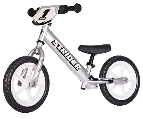 Strider Draisienne bébé de 18 Mois à 5 Ans - Vélo sans pédale bébé 12 Pro, matériaux Ultra...