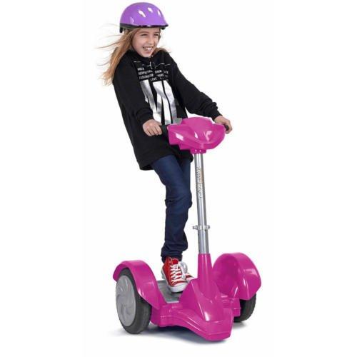 Adjustable 3 Position Handle Bar Famosa Dareway Revolution 12 Volt Powered Ride On - Pink