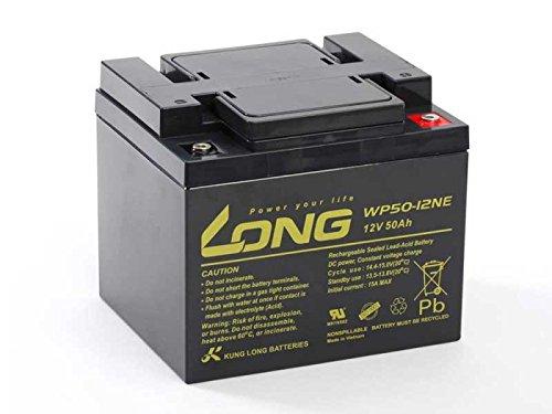 Akku kompatibel PORTALAC TEV12500 12V 50Ah AGM Blei Accu Batterie wartungsfrei