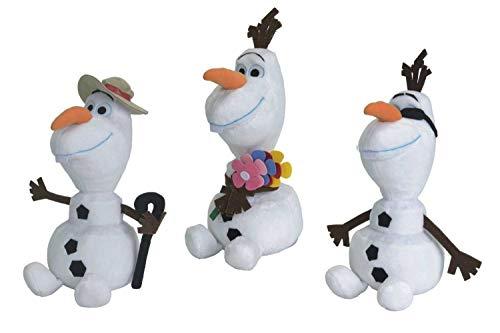 La Reine des Neiges de Disney Frozen, été Olaf Bonhomme de neige, 25 cm (assortis)