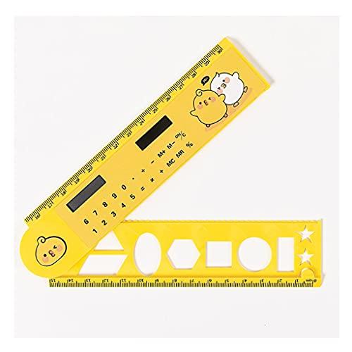 Calculadora de regla giratoria Mini estudiante Oficina Solar Simple de doble uso para estudiantes de oficina en casa, 30 cm/11.8 pulgadas múltiples opciones (color: M1)