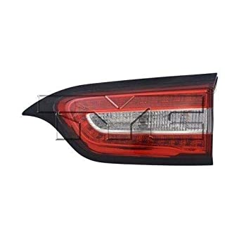 Go-Parts - for 2014 - 2018 Jeep Cherokee Rear Tail Light Lamp Assembly / Lens / Cover - Right  Passenger  Side Inner 68330344AA CH2803104 Replacement 2015 2016 2017