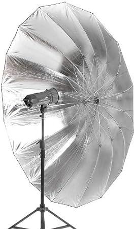 Quenox Parabol Reflektor Für Studioblitz 215 Cm Silber Kamera