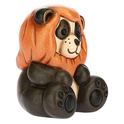 THUN - Panda Leo - Linea Oroscopo - Formato Piccolo - Ceramica - 6,5x5,8x7,8 h cm