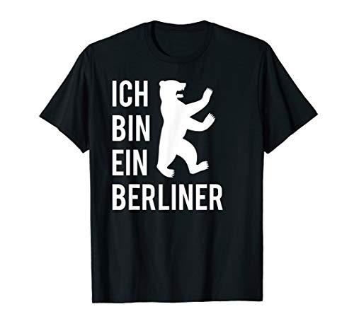 Ich bin ein Berliner Geschenke Berliner Bär T-Shirt