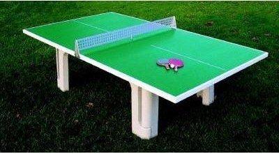 Der Sportler Beton-Tischtennistisch u. Netz neu, Outdoor Tischtennisplatte 2. Wahl